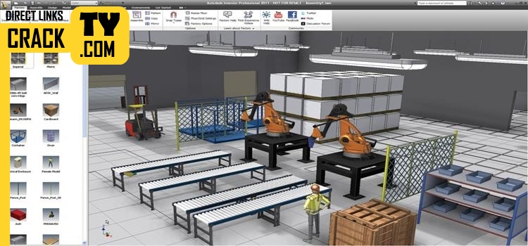 Autodesk Factory Design Utilities 2018 Crack