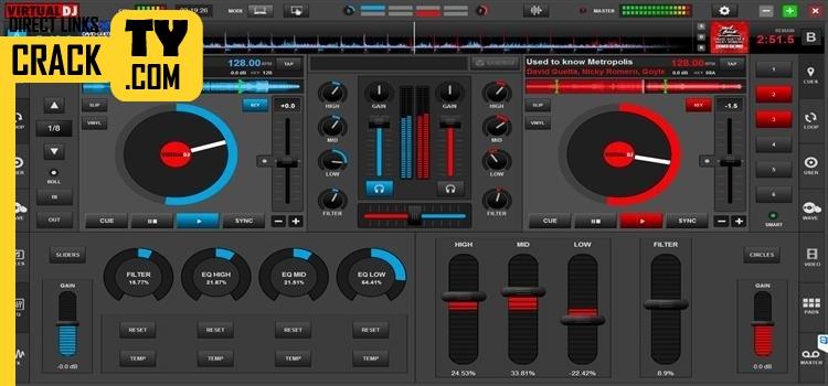 Download Virtual DJ PRO 8 + PlugIns Crack