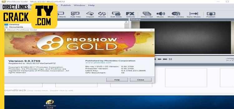 ProShow Gold 9 Crack