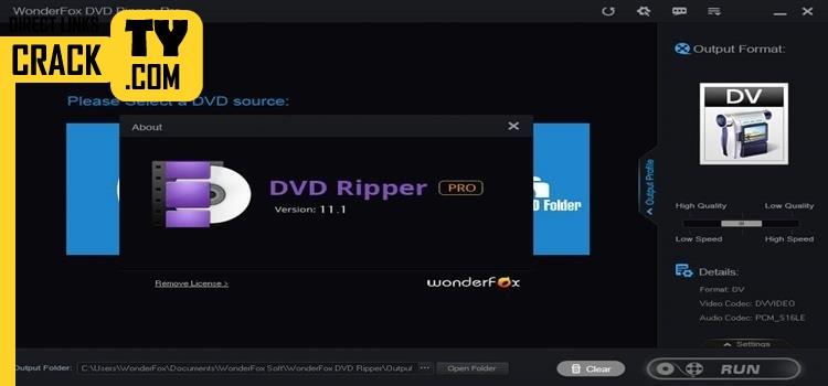 Wonderfox DVD Ripper Crack